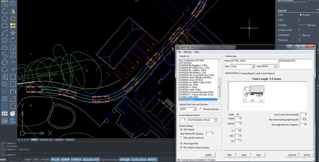 vehicle turning simulator interface
